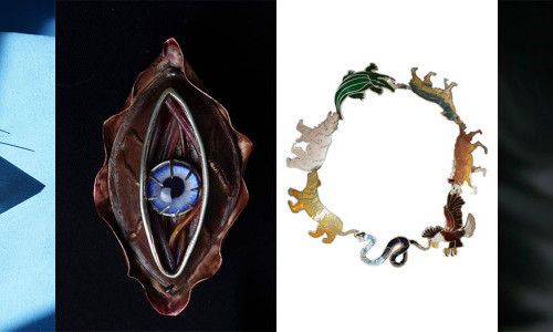 Recycling Silver & Using Glass Eyes as Gems, Students Instill Sustainability in their Jewelry Designs