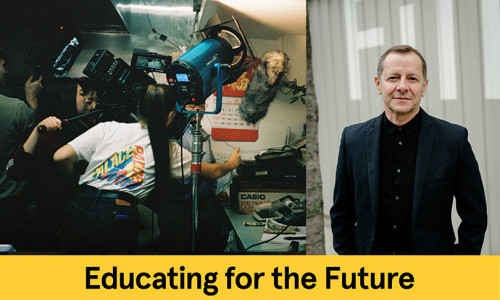 Educating for the Future: Film/Video Chair Jorge Oliver
