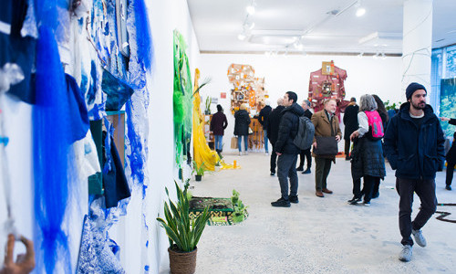 Pratt Shows in Full Swing with Monday Openings on Campus and More