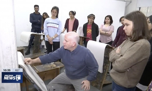 NY1 Features Pratt Young Scholars and the Institute's 120-Year History of Community Outreach