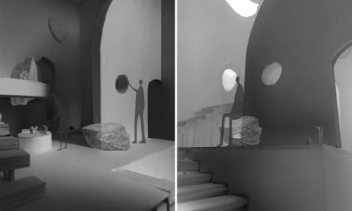 Interior Design Students Envision Noguchi Museum Viewing Rooms for a Time of Social Distancing
