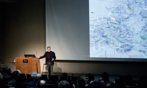 James von Klemperer of Global Architecture Firm Kohn Pedersen Fox Gives Campus Talk on Urban Design