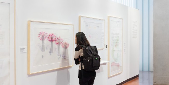 Acclaimed Exhibition on Campus Highlights Creative Process of Celebrated Artist Robert Irwin