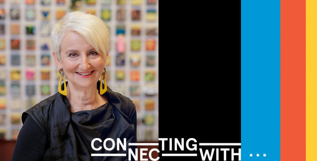 Connecting with… A Conversation between President Frances Bronet and SGA President Danni Qu