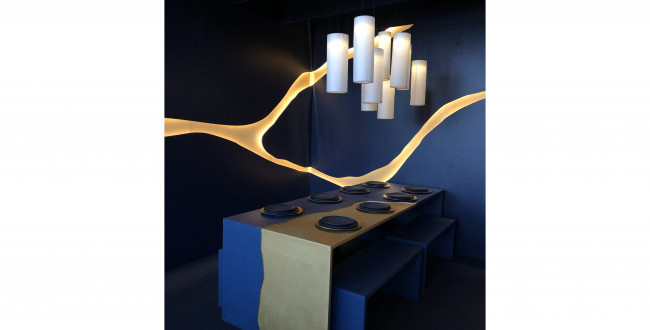 Japanese Mending Inspires Students for 2019 DIFFA Dining by Design Installation