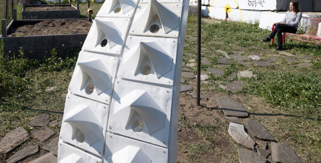 School of Architecture Advocates for Climate Education with Pavilions & Projects on Governors Island