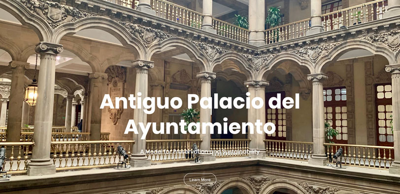 Antiguo Palacio del Ayuntamiento: Renovating History for the Future