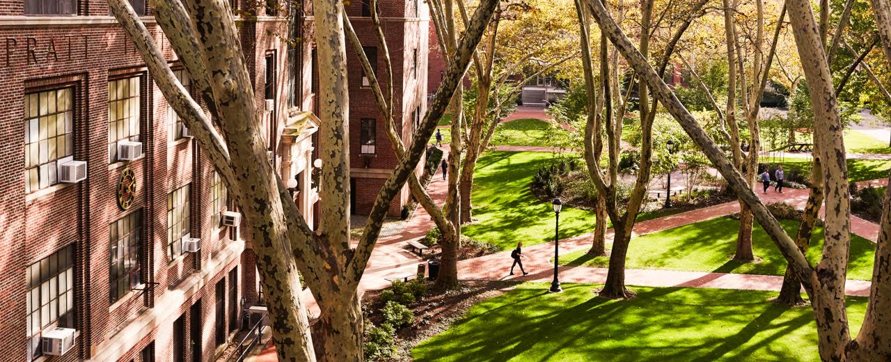 THE WALL STREET JOURNAL FEATURES AWARD-WINNING CAMPUS LANDSCAPE REDESIGN