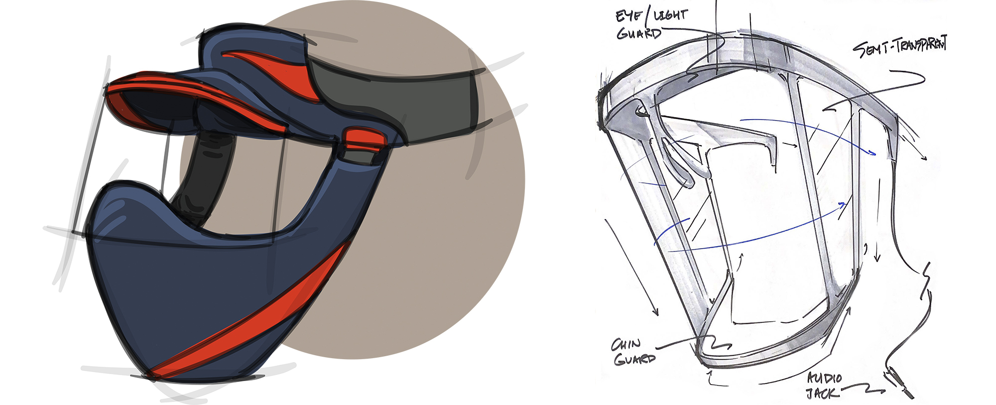 INDUSTRIAL DESIGN STUDENTS IMPROVE PPE FOR CONSTRUCTION WORK, HEALTHCARE, HOSPITALITY, TEACHING